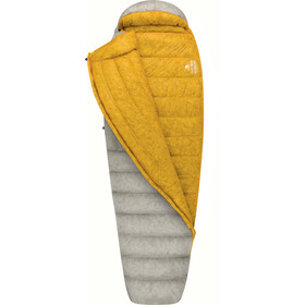 Sea to Summit Spark SpIII Slaapzak lang, light grey/yellow